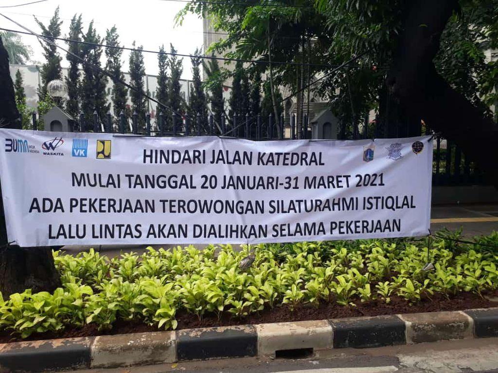Proyek Terowongan Silaturahmi Istiqlal Dimulai 20 Januari, Simak Alih Arusnya