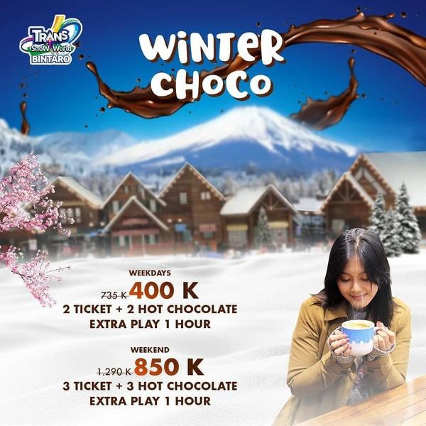 Trans Snow World Bintaro Ticket