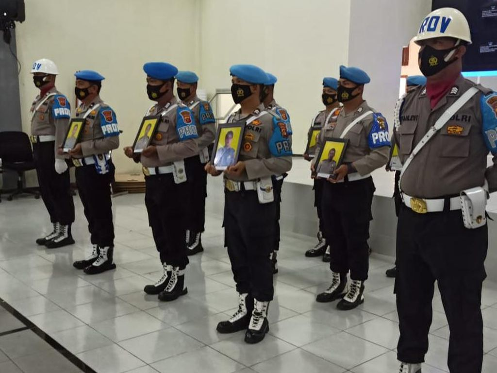 Terlibat Kasus Narkoba, 9 Oknum Polisi di Palembang Dipecat