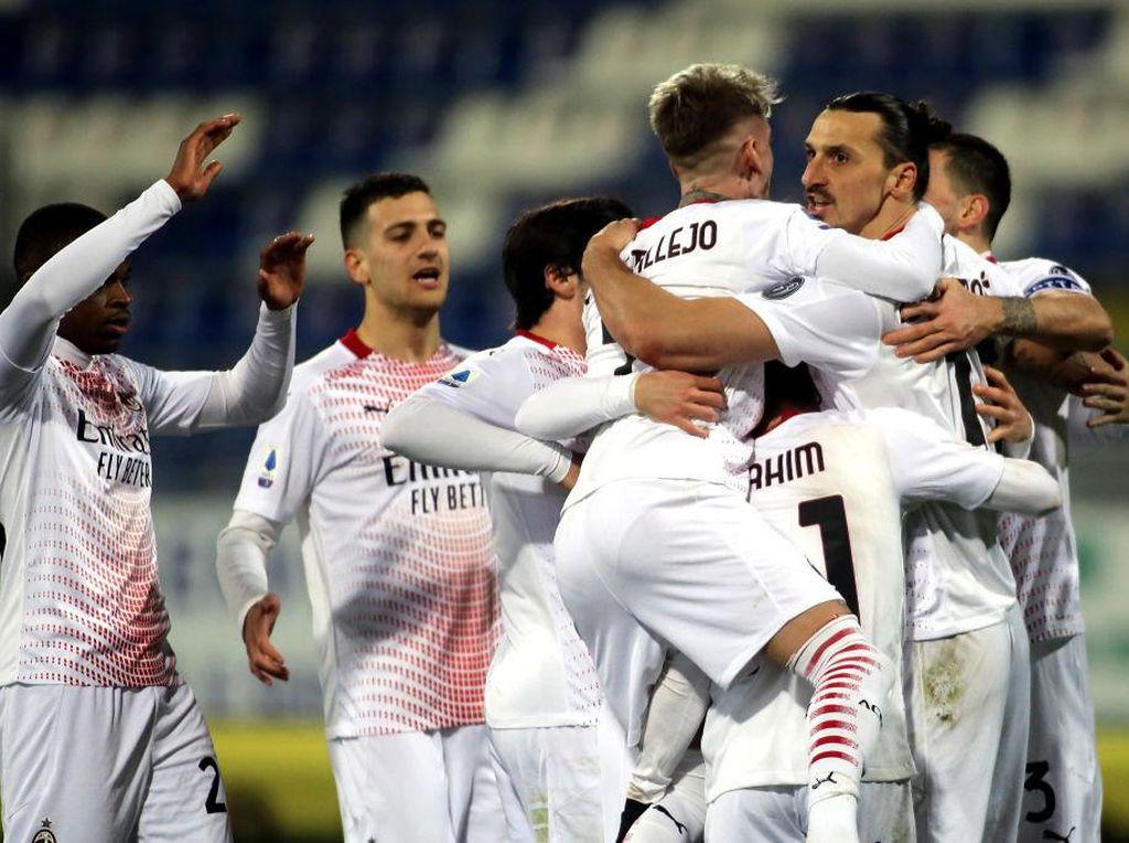 Klasemen Liga Italia: AC Milan Jaga Jarak dengan Inter