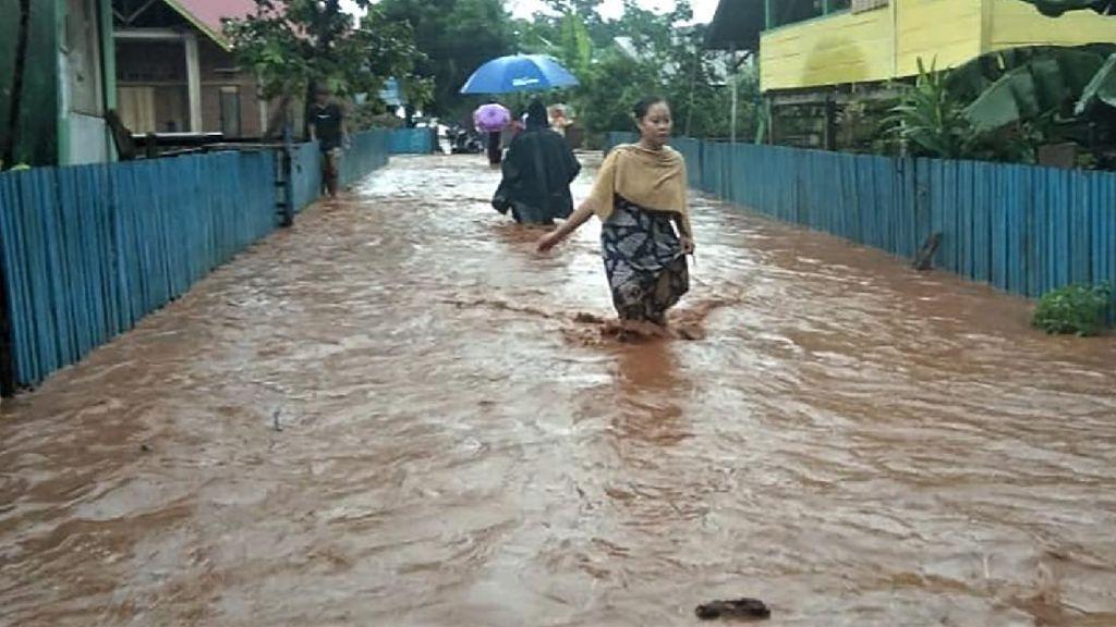 Banjir Juga Rendam Bombana, Sulawesi Tenggara