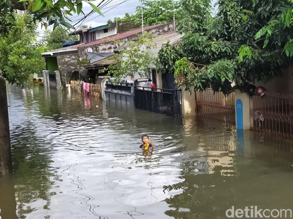Perumnas Antang Makassar Banjir, Pj Walkot: Akibat Hujan Deras 1 Minggu