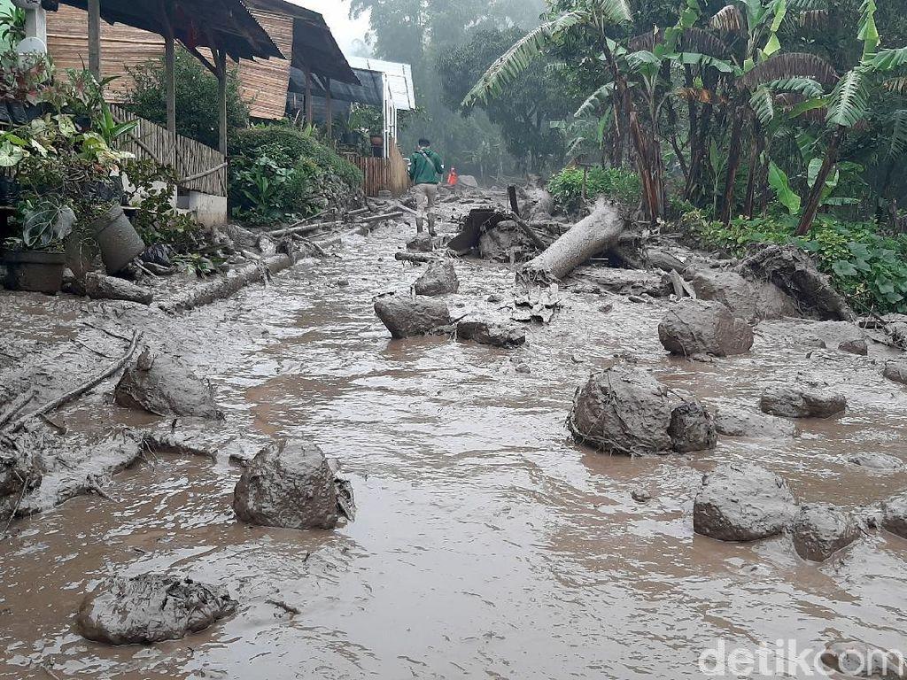 Banjir Bandang di Gunung Mas Puncak, BPBD Jabar: Nihil Korban Jiwa
