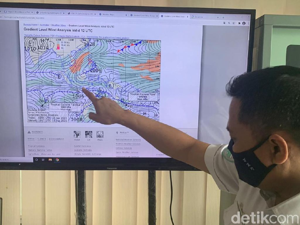 BMKG Maritim Imbau Nelayan Waspada Gelombang Tinggi Dampak Siklon Tropis