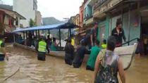 Jalanan di Bolivia Berubah Jadi Sungai Dadakan