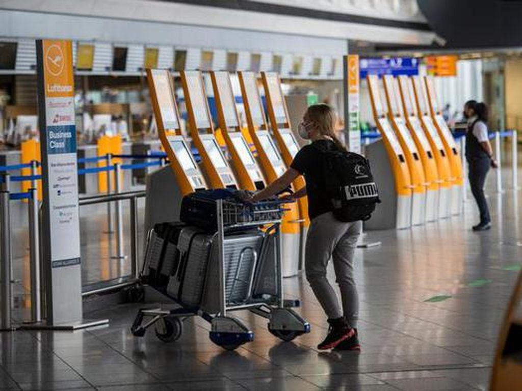 Dihantam Pandemi, Jumlah Penumpang di Bandara Frankfurt Terendah Sejak 1984