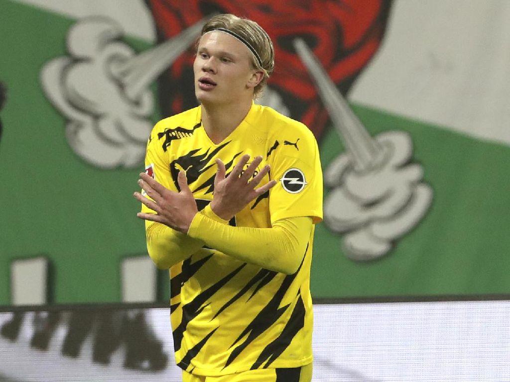 Solskjaer Hormati Dortmund, Enggan Banyak Bahas Haaland