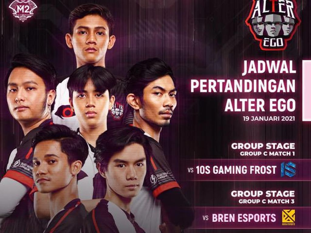 Alter Ego Dikalahkan Bren eSport di M2 Mobile Legends