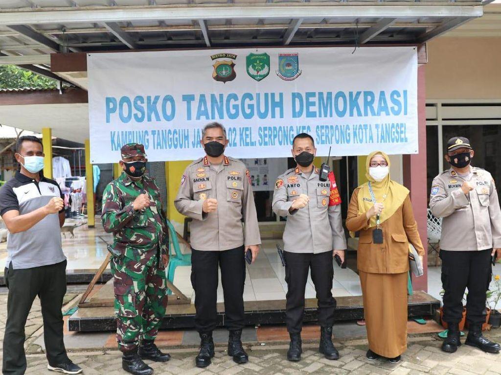 Polsek Serpong Ungkap Program Kampung Jaya, Klaim Turunkan Angka COVID