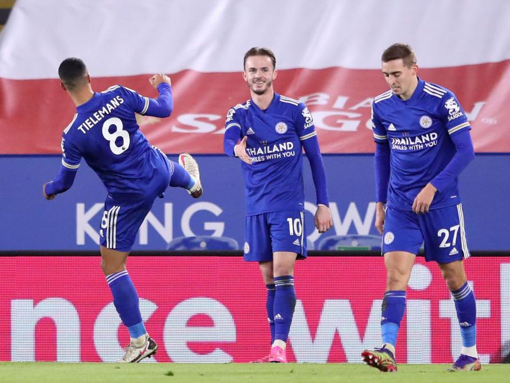 Leicester Ketagihan Bersaing di Papan Atas Liga Inggris