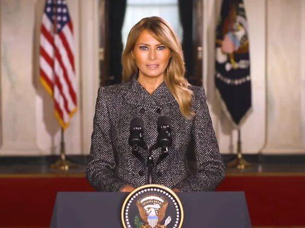 Melania Trump: Jadi Ibu Negara adalah Kehormatan Terbesar Saya