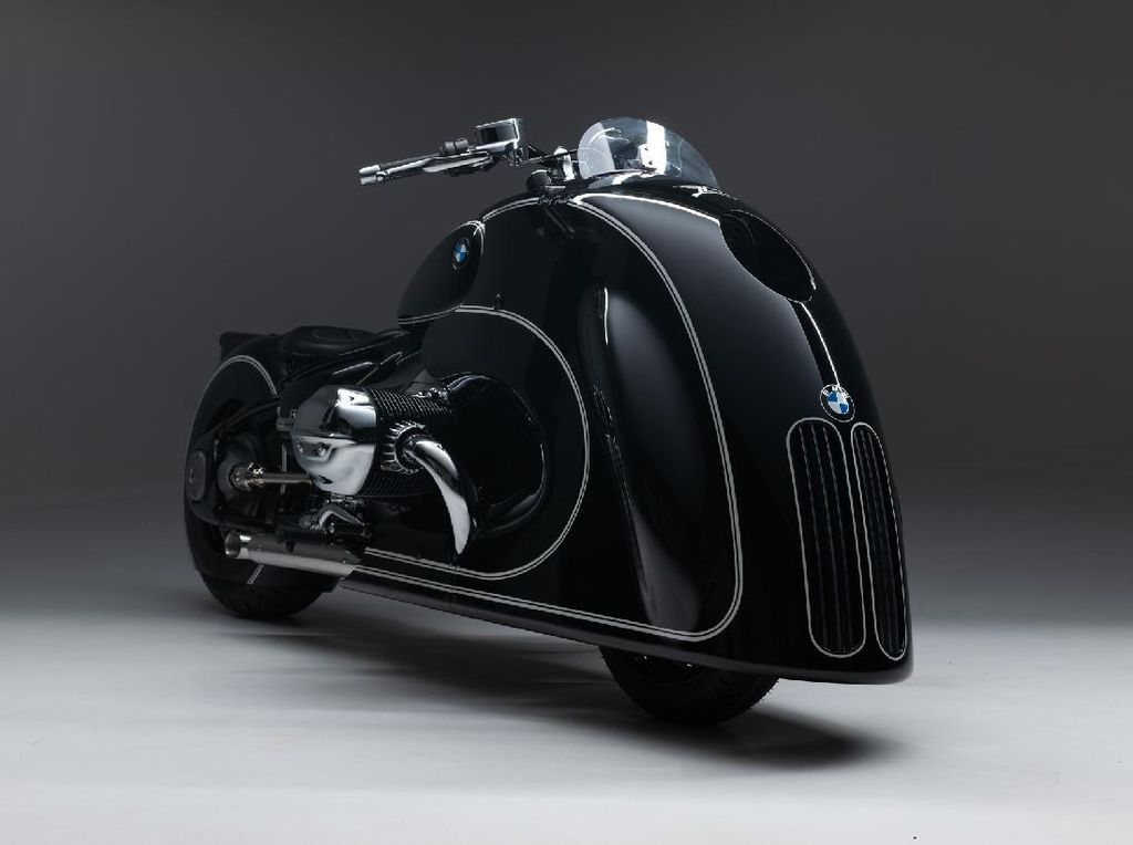 Modifikasi BMW R 18 Berkumis Seperti Versi Mobil