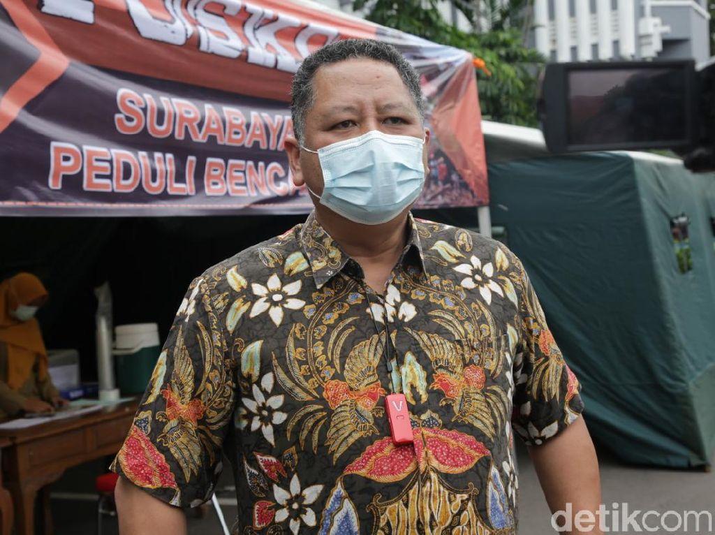Posko Peduli Bencana Dibuka di Balai Kota Surabaya