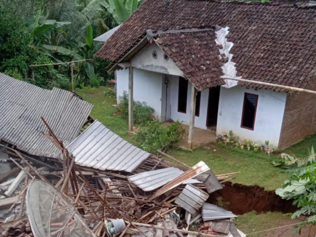 Rumah Ambruk Gegara Tanah Gerak di Purworejo Bertambah-Puluhan Rusak