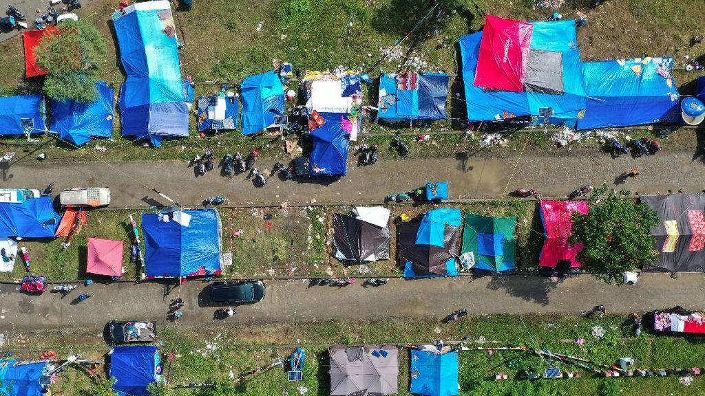 Foto: Tenda Pengungsian untuk Korban Gempa Sulbar