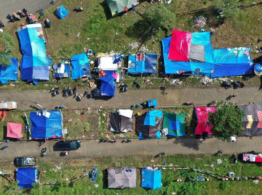Sempat Pulang, Korban Gempa di Majene Balik Mengungsi