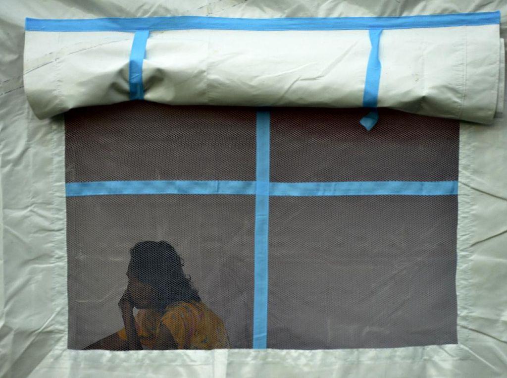 3 Pengungsi Korban Gempa Sulbar di Makassar Positif Covid-19