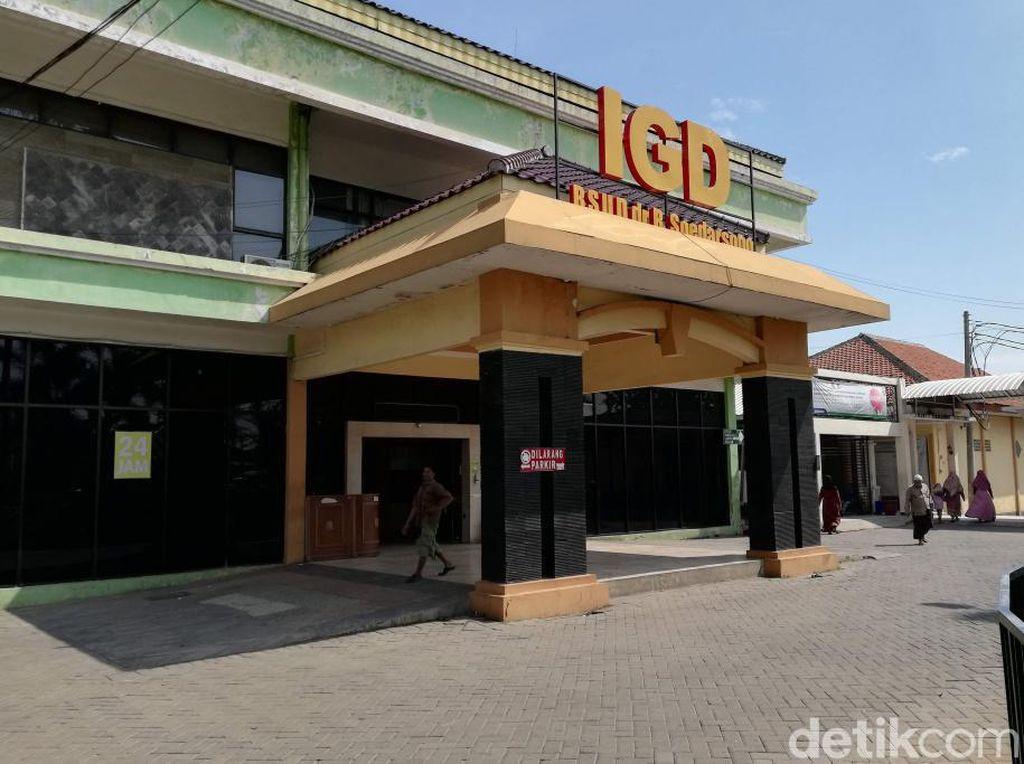 Keterisian Bed RSUD Kota Pasuruan 84 Persen, Oksigen Masih Aman