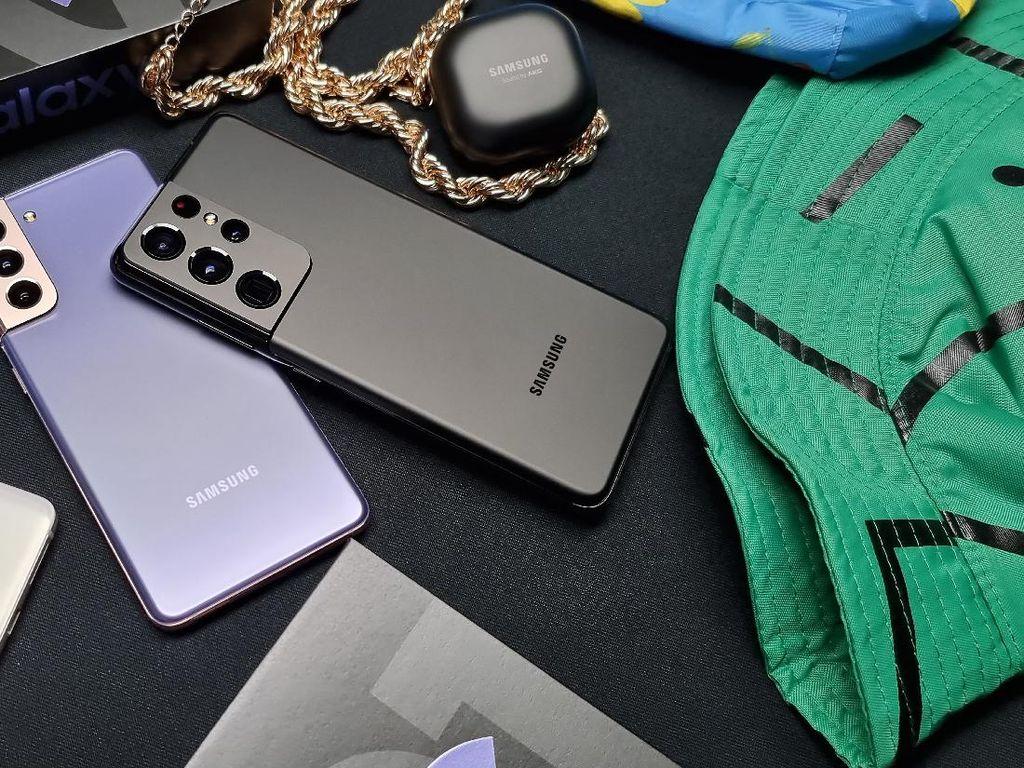 Ulasan Desain Epik Samsung Galaxy S21 Series 5G