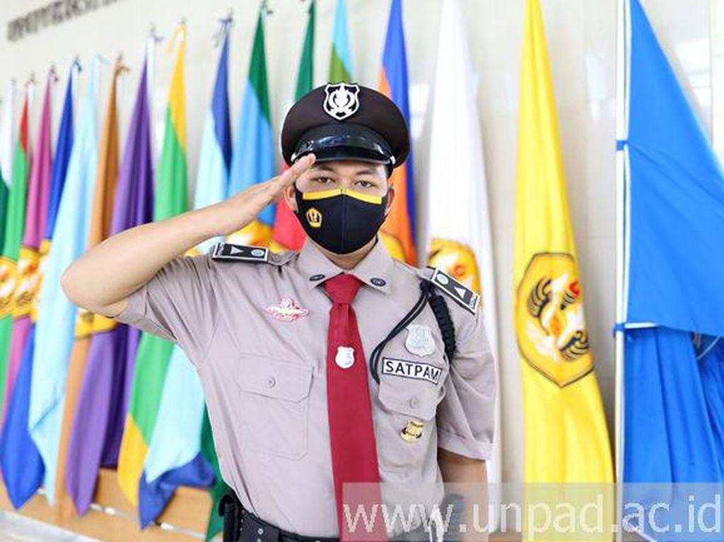 Unpad Ubah Seragam Satpam Jadi Mirip Polisi
