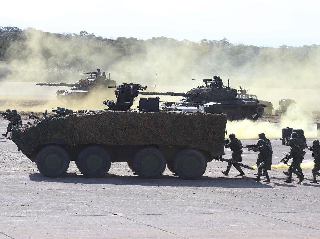 Taiwan Gelar Latihan Militer Antisipasi Serangan China