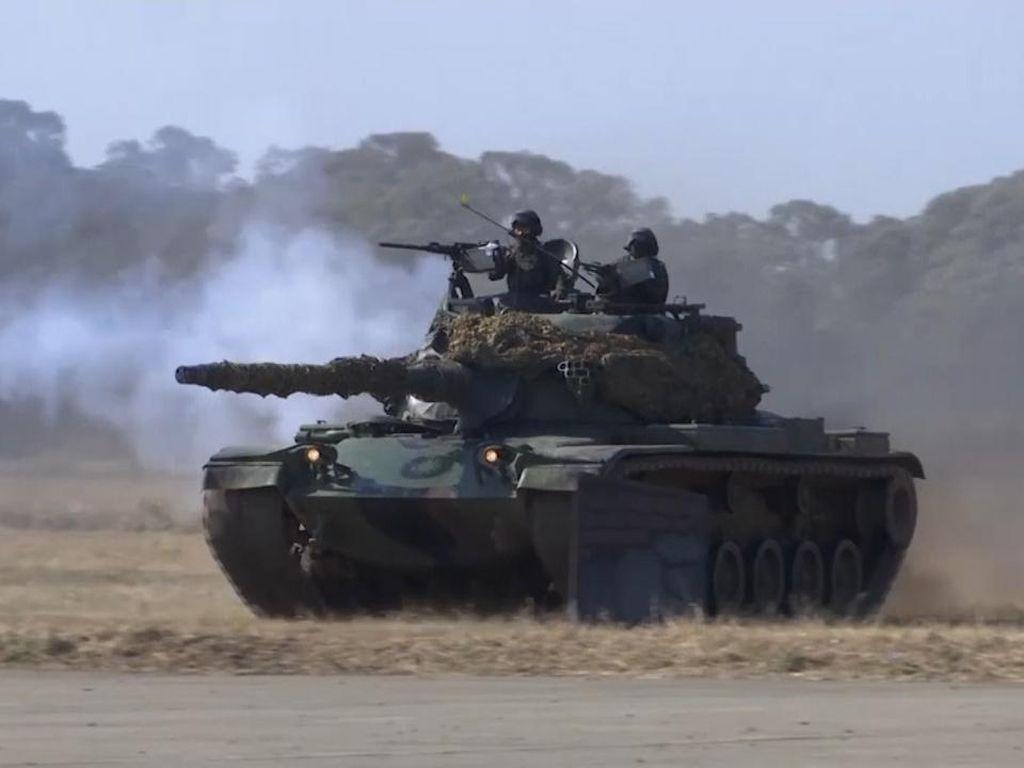 Taiwan Latihan Militer Besar-besaran Antisipasi Serangan China