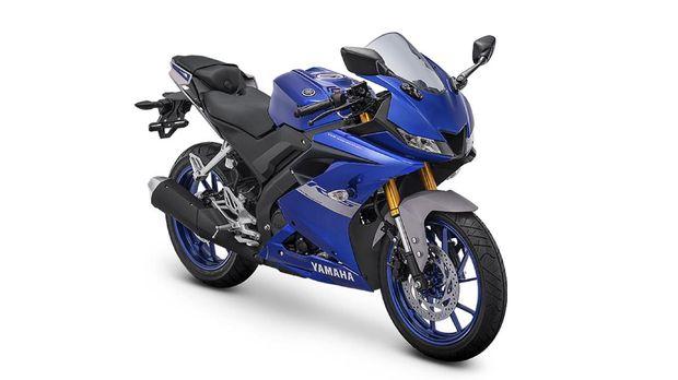 Yamaha R15 2021 dengan warna baru