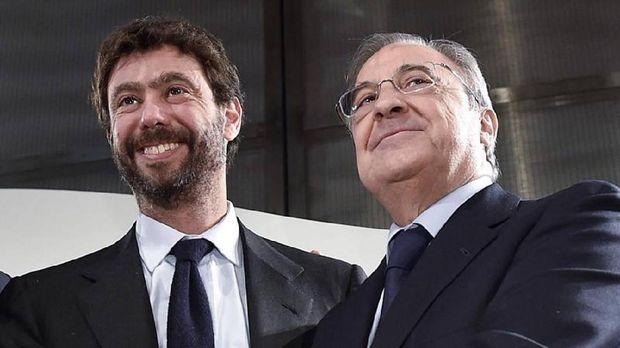 Andrea Agnelli, Florentino Perez