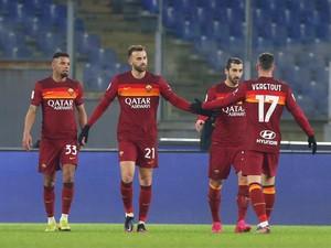 Roma Vs Spezia: Giallorossi Lakukan Enam Pergantian Pemain, Memang Boleh?