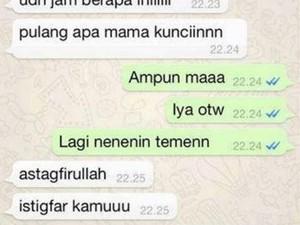 10 Chat Typo Bikin Keluarga Jantungan Pas Baca, Auto Panik Takut Didepak!