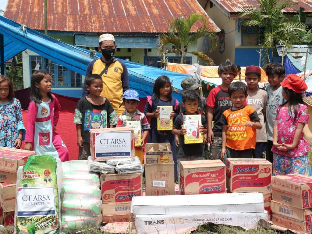 CT ARSA Foundation-Dompet Amal Transmedia Bantu Korban Bencana Sulbar-Kalsel