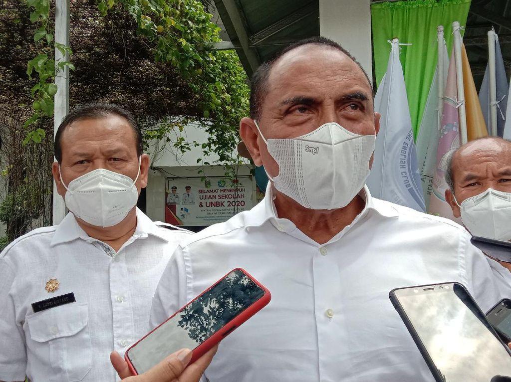 Setahun Pandemi Corona, Gubsu Edy: Prokes Vaksin Utama yang Harus Ditaati