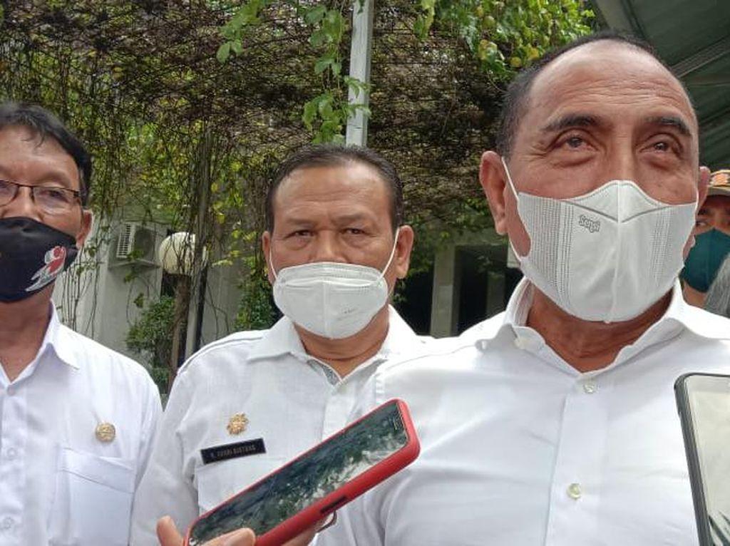 Diadukan ke Polisi soal Dugaan Langgar Prokes, Gubsu: Ya Biarin Saja