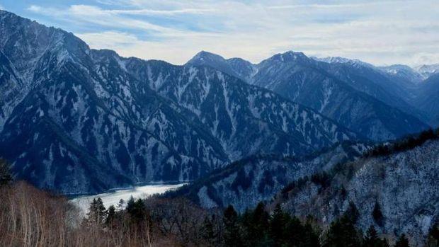 Gunung di Jepang.