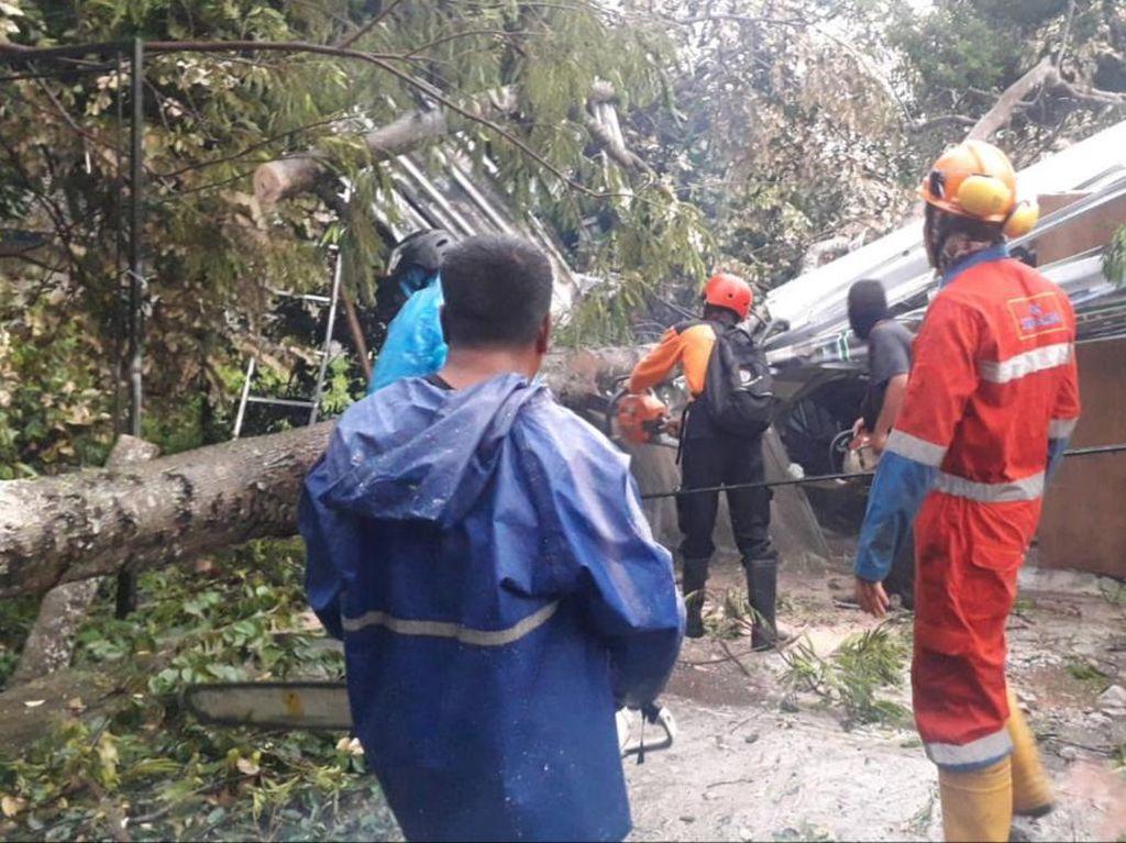 Hujan Disertai Angin Kencang di Sleman, Sejumlah Rumah Rusak