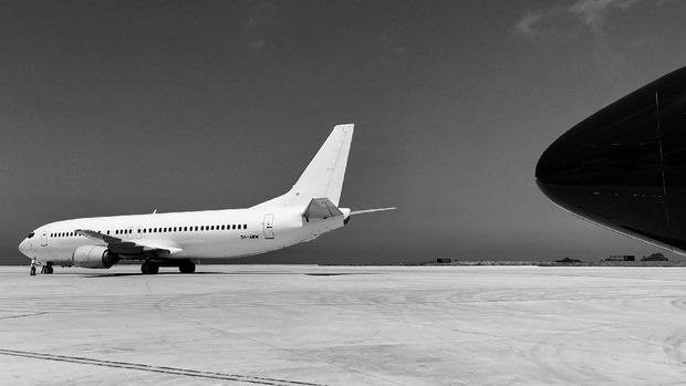 sebuah pesawat