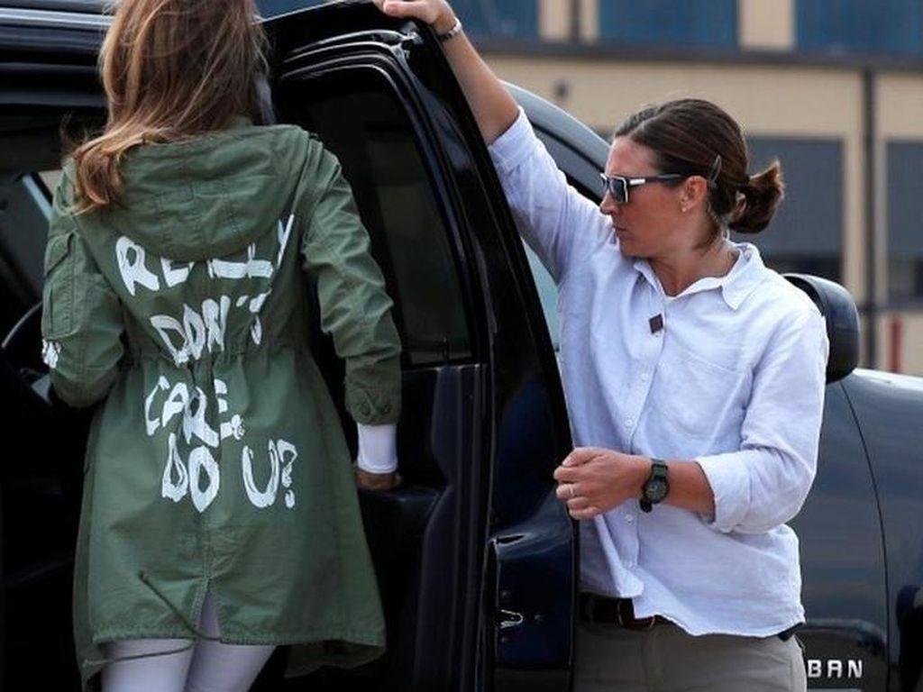 Melania dan Jaket Saya Tak Peduli, Ini Momen Penting Kepresidenan Trump