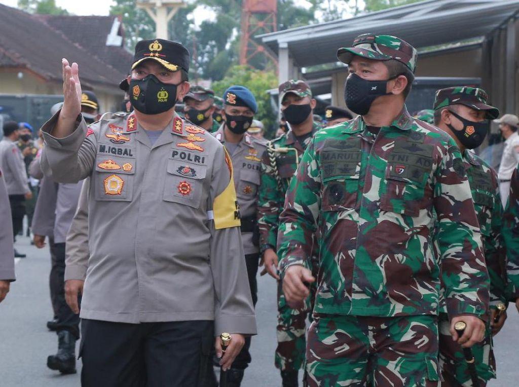 Pesan Pangdam Udayana di Polda NTB: TNI-Polri Bersatu, Tak Ada Ganggu NKRI