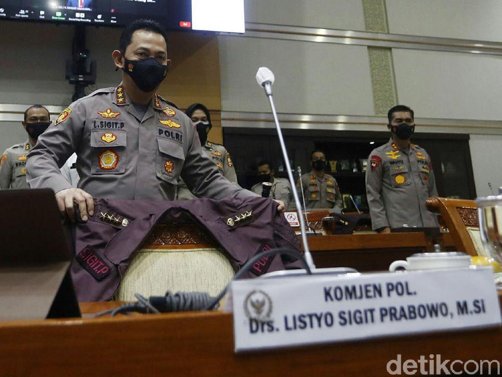 Komjen Sigit: Tak Ada Lagi Polisi Pusing Pikir Apa yang Dikasih ke Pimpinan