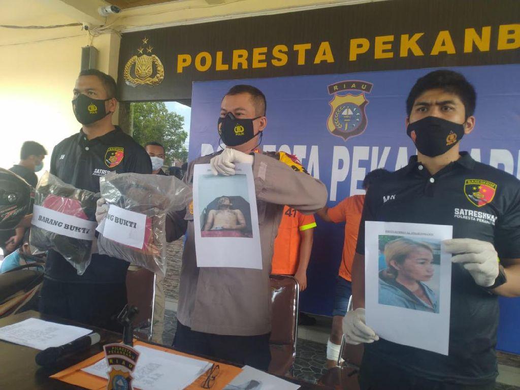 Polisi Ungkap 4 Penyiram Air Keras ke Sejoli di Riau Diupah Rp 8 Juta