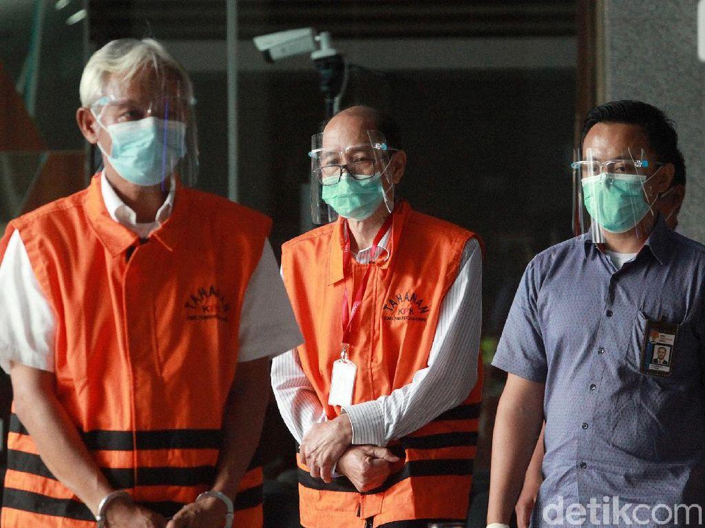 KPK Tahan 2 Tersangka Korupsi Pengadaan Citra Satelit