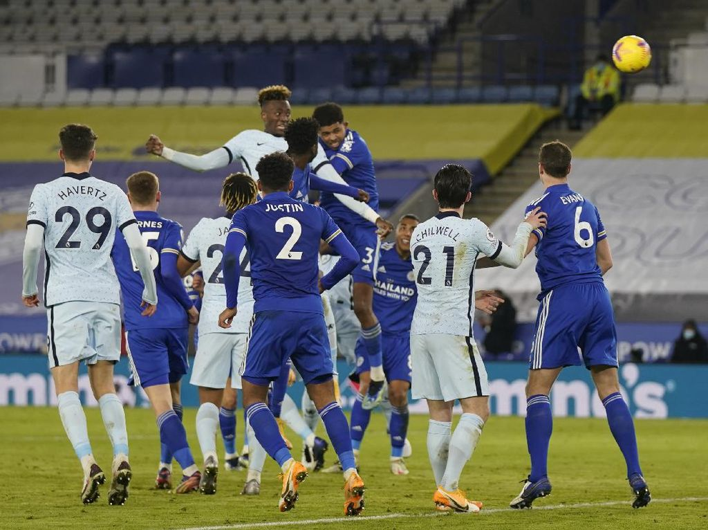 Leicester Vs Chelsea: The Foxes Menang 2-0