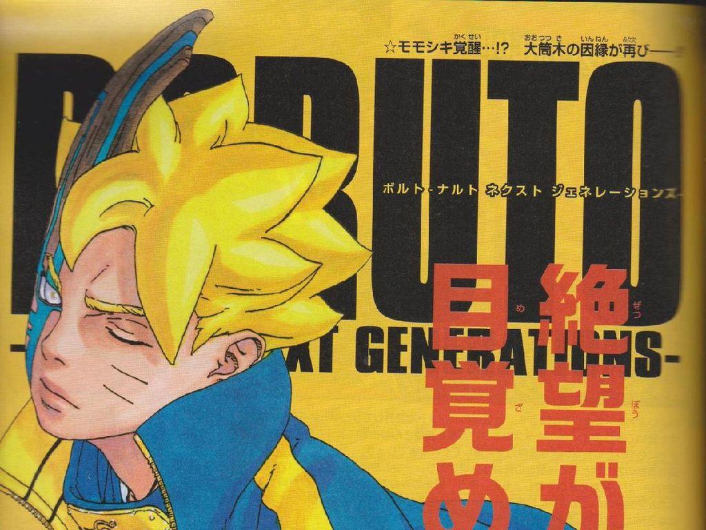 Manga Boruto 55 Kenalkan Karma Baru