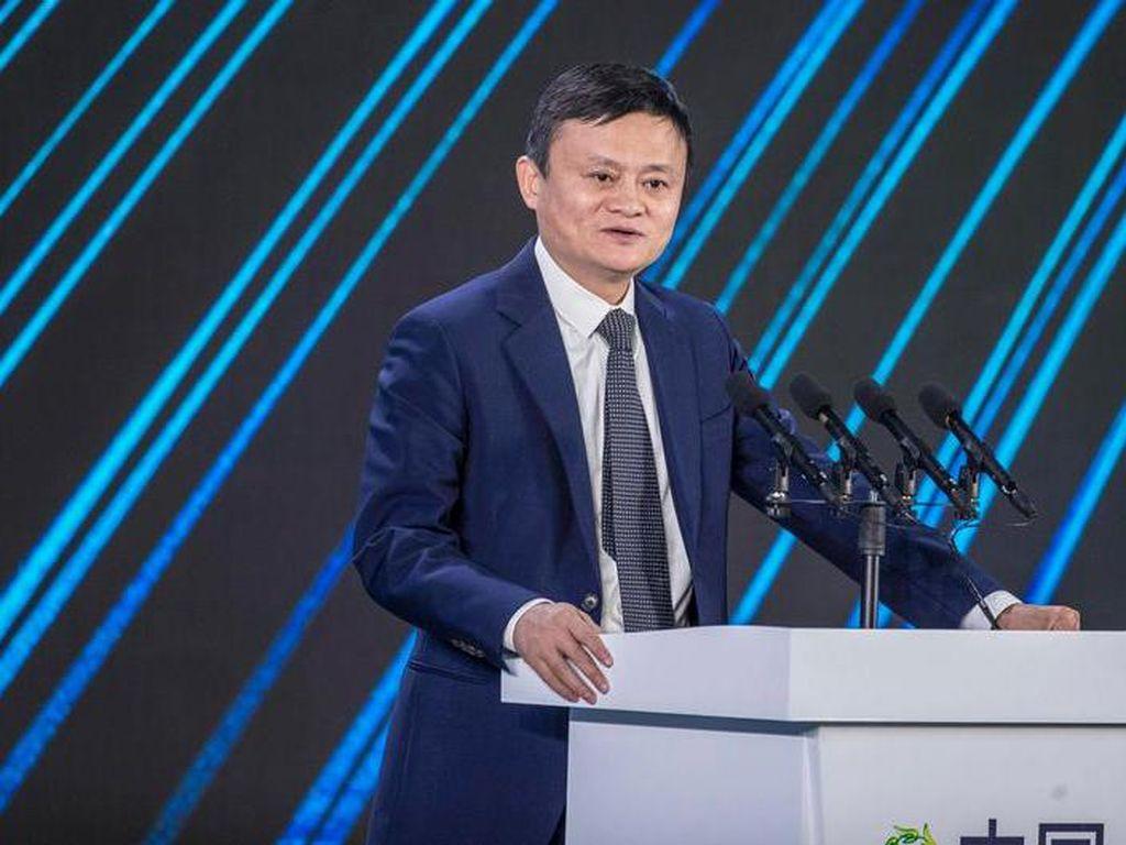 Menghilang 3 Bulan, Bos Alibaba Jack Ma Tampil dalam Konferensi Video