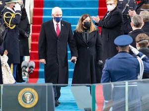 Tanpa Trump, Pence Tiba di Gedung Capitol untuk Hadiri Pelantikan Biden