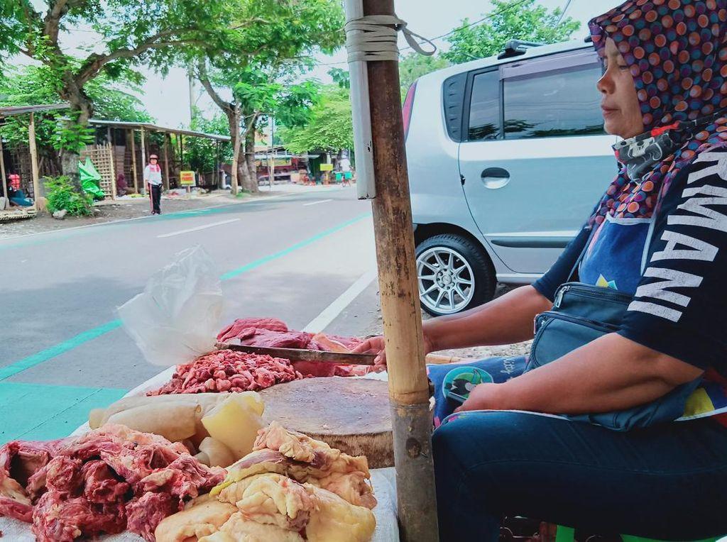 Curhat Pedagang soal Harga Daging Sapi Selama Pandemi
