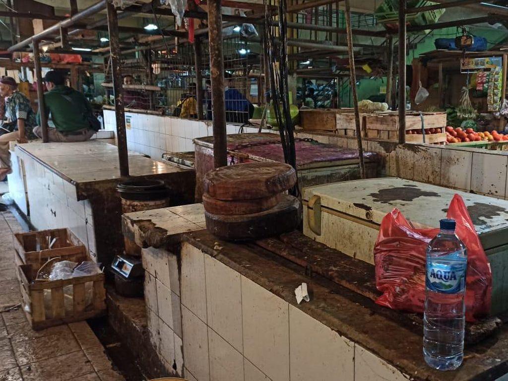 Pedagang Daging Sapi Mogok, Begini Kondisi di Pasar Jakarta Timur