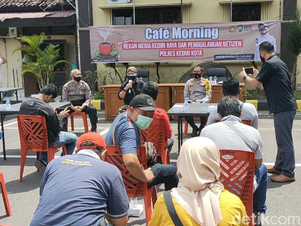 Polisi Kota Kediri dan Istri Penyintas COVID 19 Siap Donor Plasma Darah