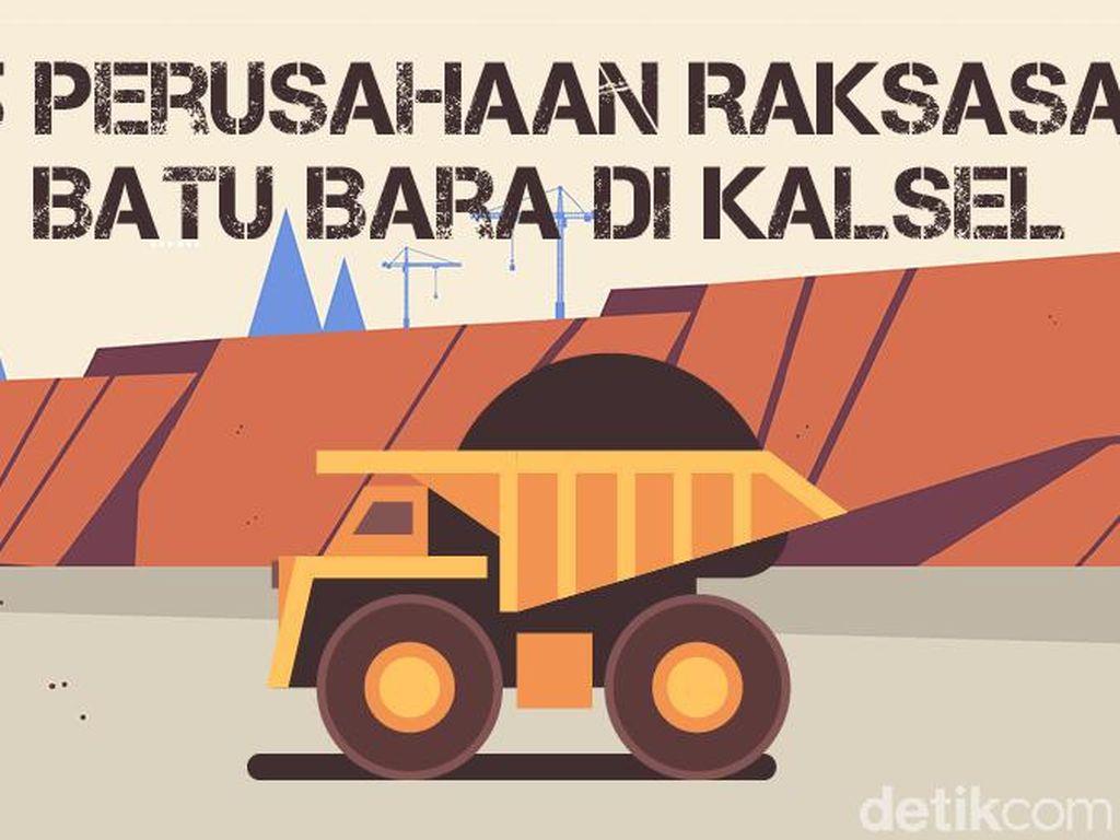 5 Perusahaan Raksasa Batu Bara di Kalsel