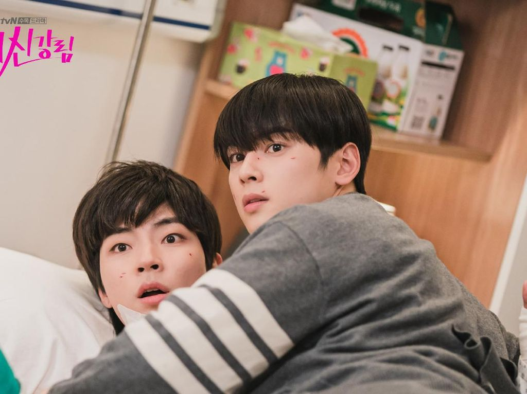 4 Momen True Beauty Episode 11, Ada Bromance Cha Eun Woo dan Hwang In Yeop